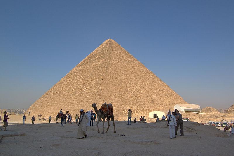 Pyramide von Gizeh (c) Berthold Werner