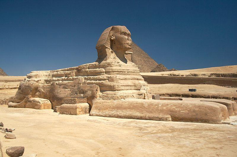 Grosse Sphinx von Gizeh (c) Barcex