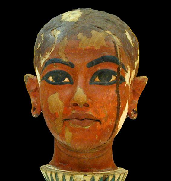 Totenmaske von Tutanchamun (c) Jean-Pierre Dalbera