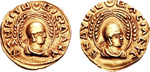 Münzen aus Aksum (c) wikicommons