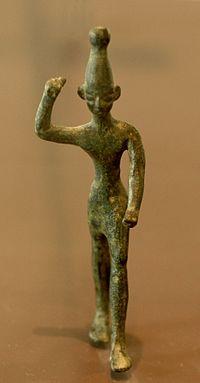 Figur des Gottes Baal, im Louvre ausgestellt (c) wikicommons