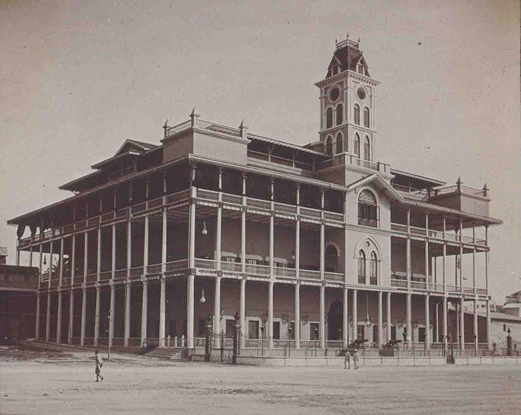 House of Wonders - ehemaliger Sultanspalast auf Sansibar (c) Frankfurt a.M.Universitätsbibliothek