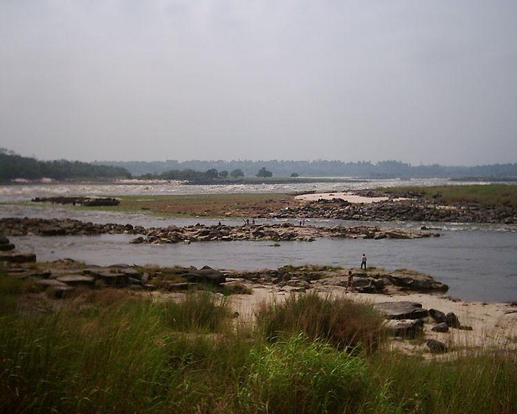 Der Fluss Kongo bei Livingstone
