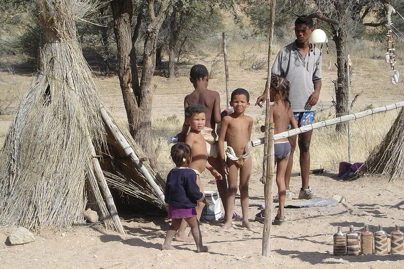 Familie der Buschmenschen