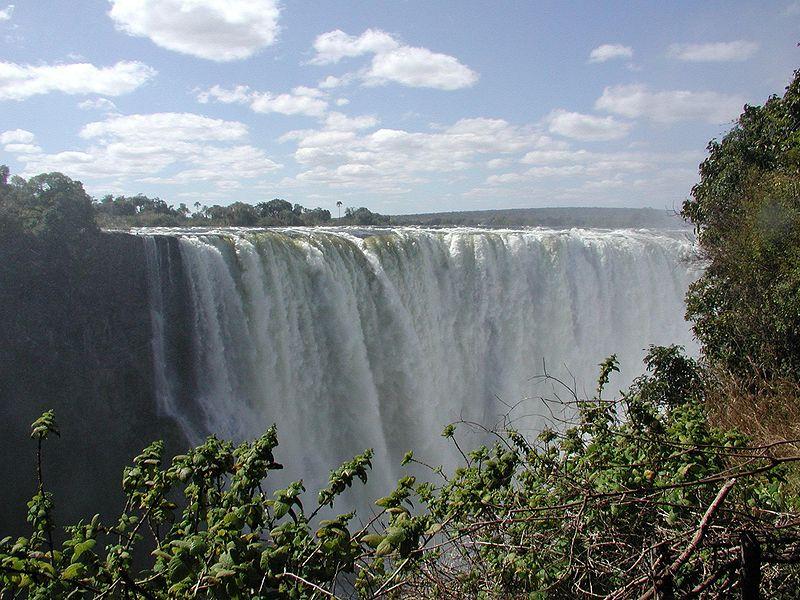 Sambesi - Victoriafälle