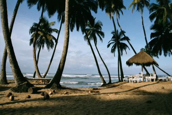 Ankobra Beach an der Küste Ghanas