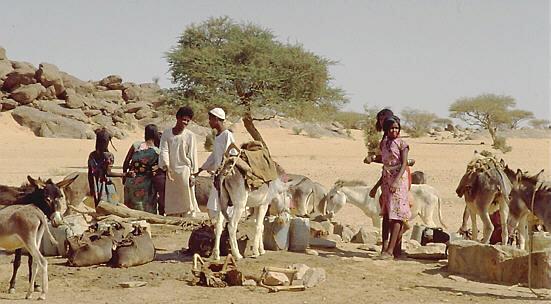 Brunnen in der Sahelzone