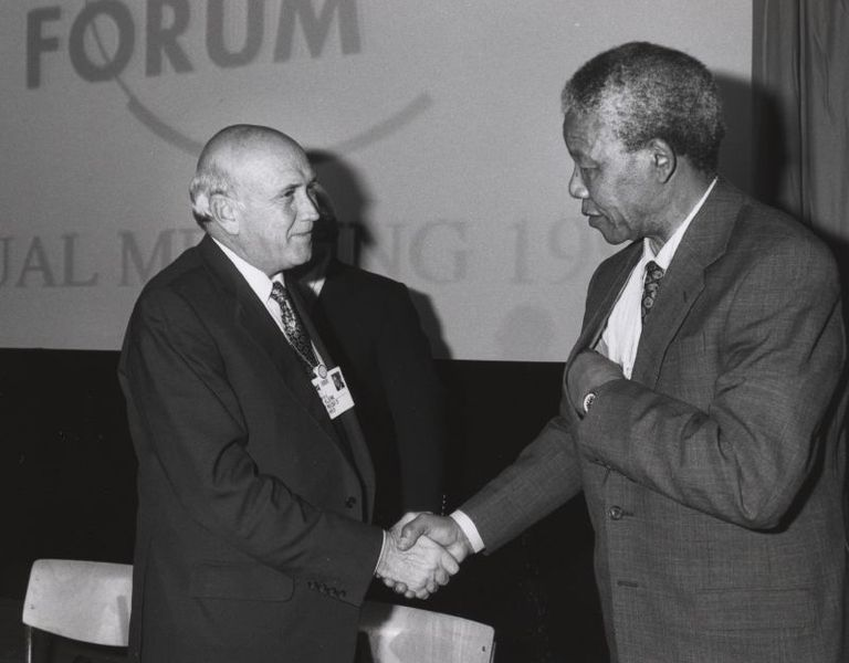 Nelson Mandela (c) World Economic Forum