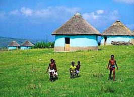 Kinder in einem Xhosa Dorf in Südafrika (c) Iccosa