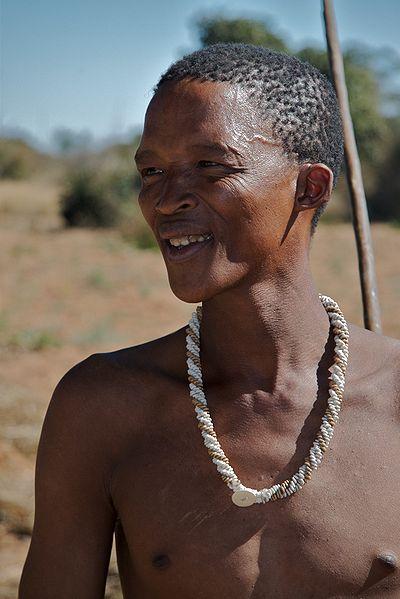 Buschmann Jäger im südlichen Afrika