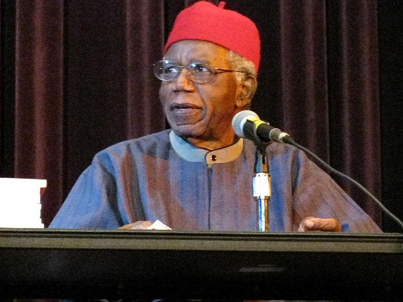 Chinua Achebe (c) Stuart C. Shapiro
