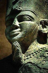 Taharqa, einer der letzten schwarzen Pharaonen