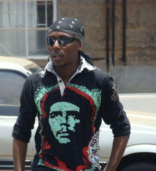Jugendlicher in Nairobi (c) Daniel Jokijo