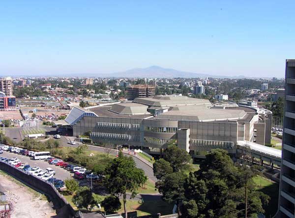 African Hall in Addis Abeba