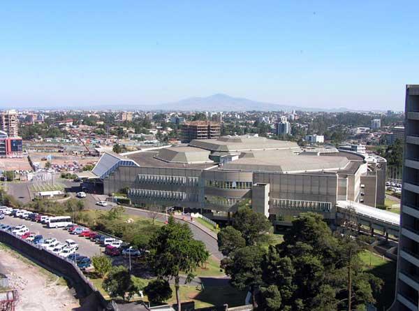 African Hall in Addis Abeba