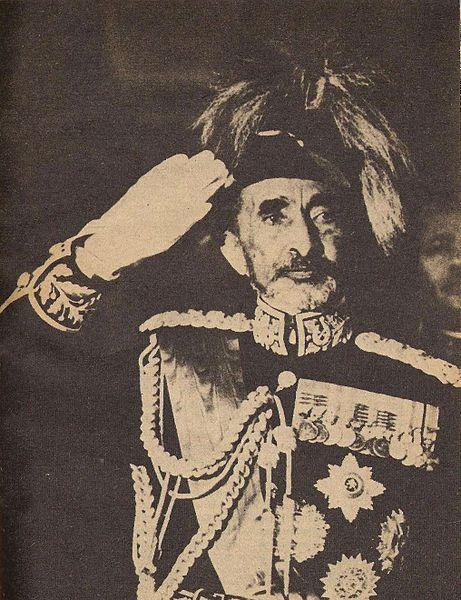 Haile Selassie - letzter Kaiser von Äthiopien