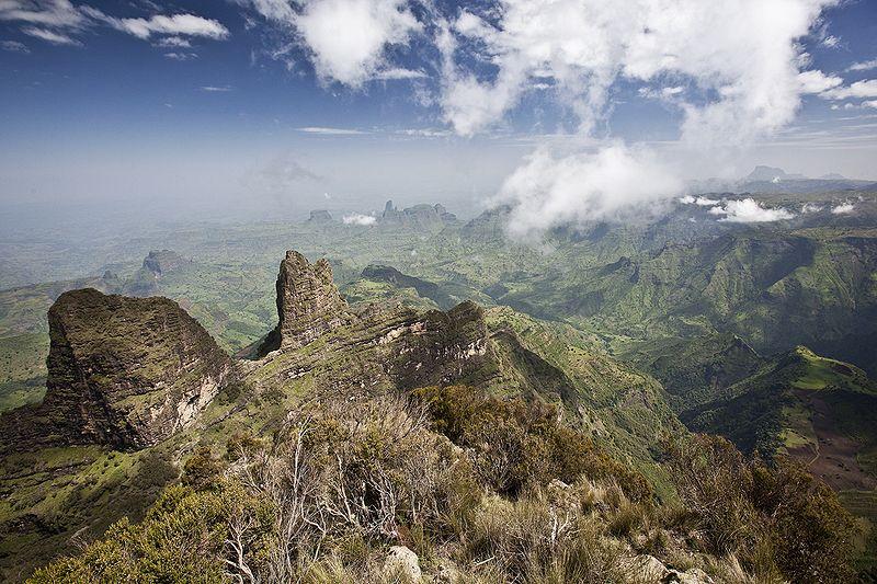Das Semien Gebirge
