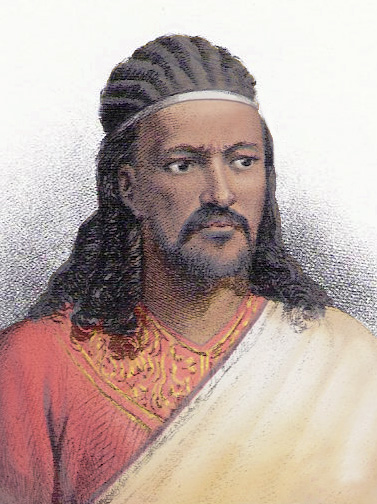 Tewodros der II. herrschte um 1860