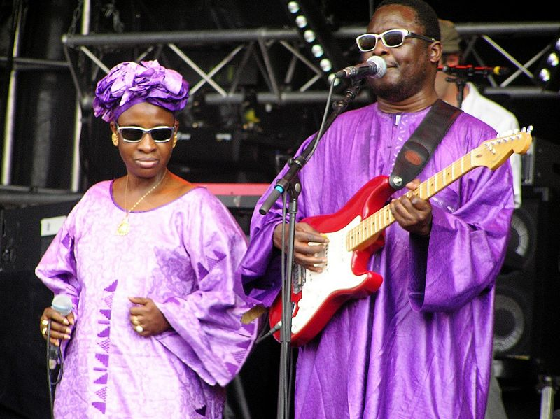 Amadou & Mariam, Sänger aus Mali (c) Jerome