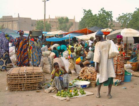 Markt Djenné (c) C.Hugues