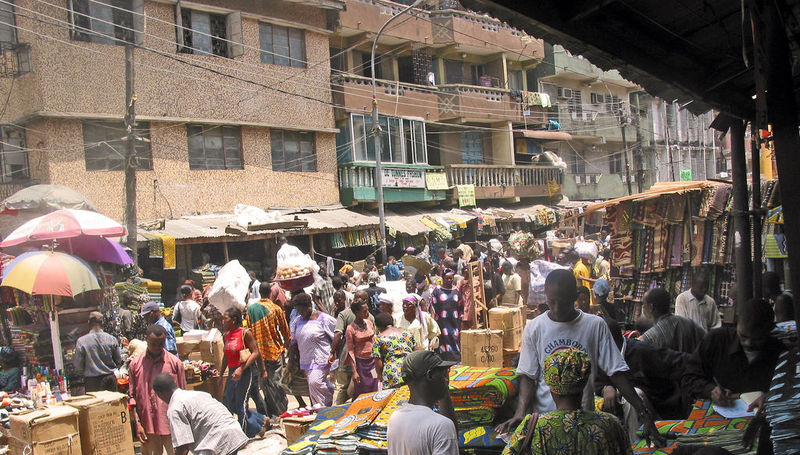 Markt in Lagos