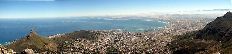 Die Bucht von Kapstadt