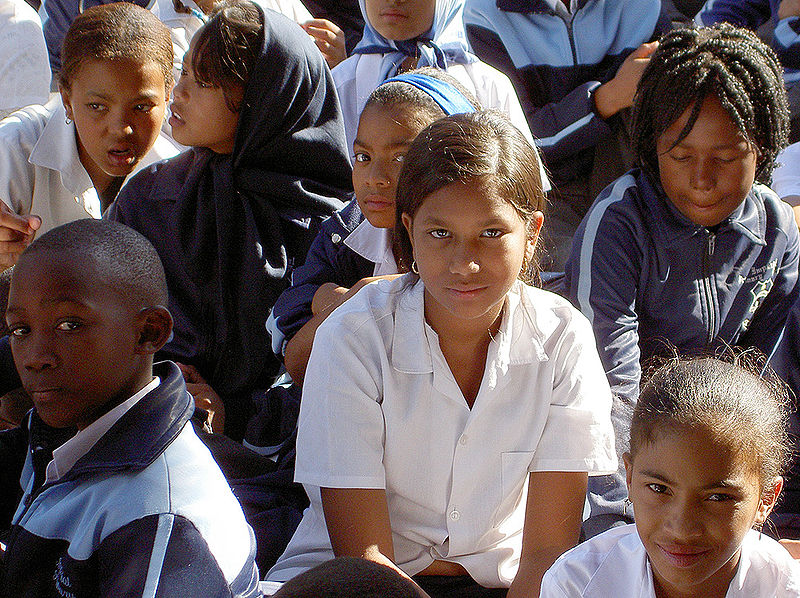 Schüler in Kapstadt, Südafrika