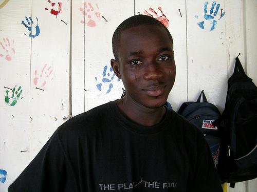 Junge aus Ghana