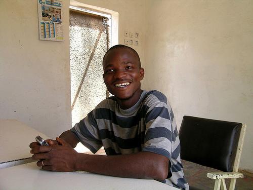 Schüler aus Ghana