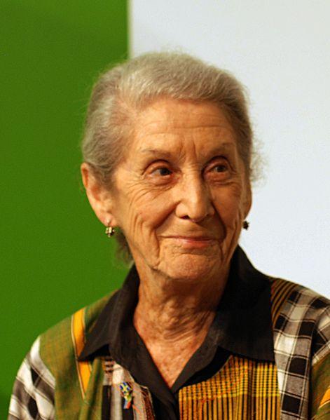 Nadine Gordimer (c) Bengt Oberger