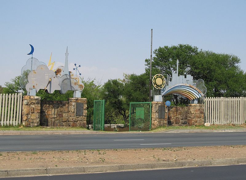 George Harrison Park, früher ein Dorado für Goldsucher in Witwatersrand (c) Steamhunter
