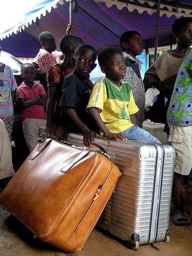 Kinder auf Reisen (c) cHughues CCBYSA2.0