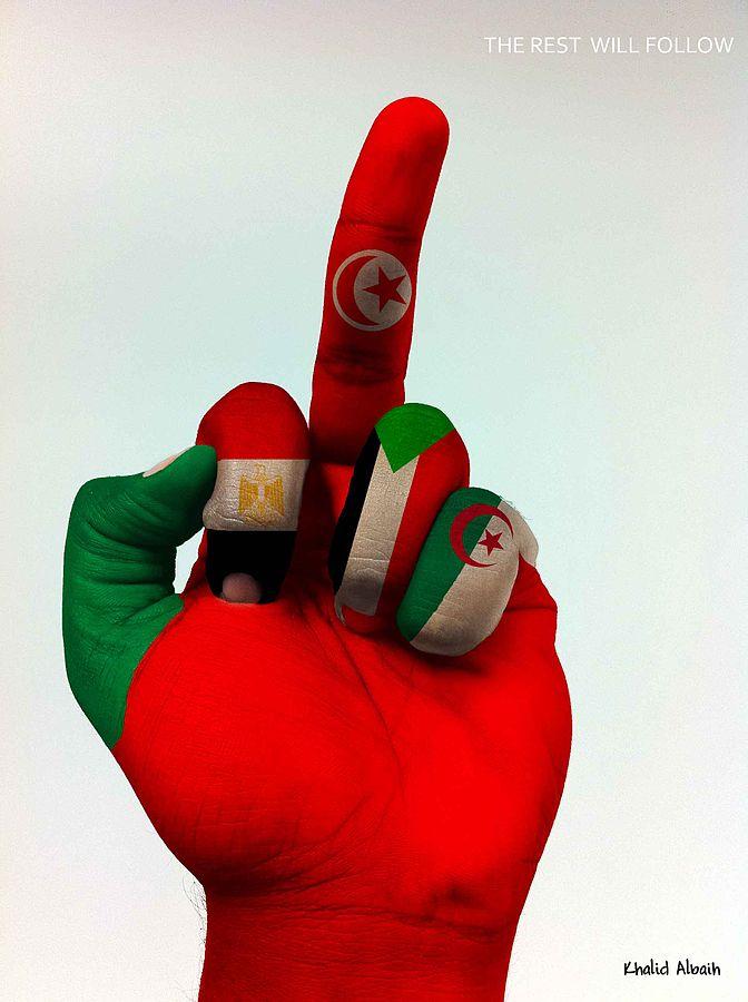 Die arabische Welt protestiert (c) Khalid CCBYSA3.0